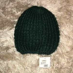 NWT Nordstrom olive beanie